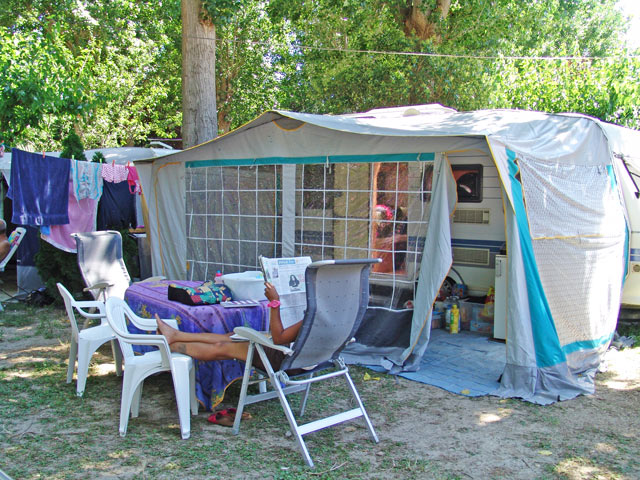 Camping in Hérault Palavas near Montpellier with pitches for (...)
