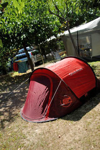 Camping near the sea in Hérault with pitches for tents