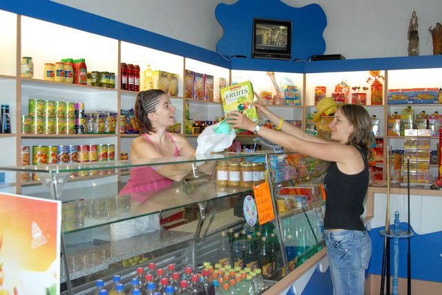 To shop without leaving the campsite, at the Oasis Palavasienne near (...)