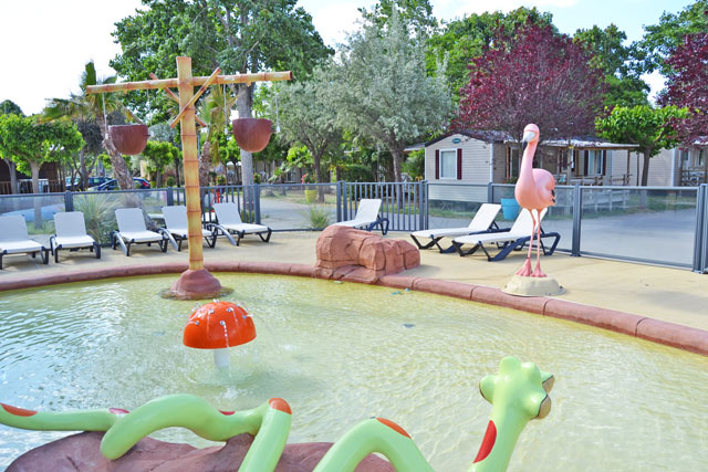 Camping with new wading pool in Herault near Montpellier (34)