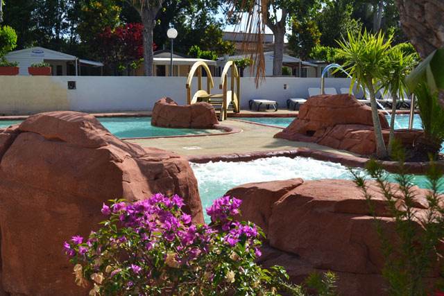 Great water park with whirlpools in Palavas camping near Montpellier (...)